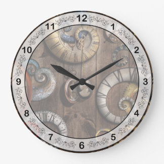 Steampunk - Clock - Time machine