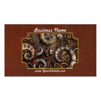 Steampunk - Clock - Time machine Business Card