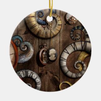 Steampunk - Clock - Time machine Ornament