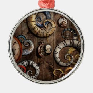 Steampunk - Clock - Time machine Ornaments