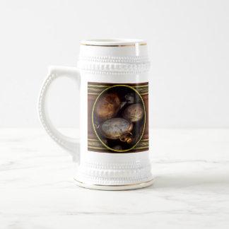 Steampunk - Clock - Time worn Beer Stein