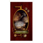 Steampunk - Clock - Time worn Business Card