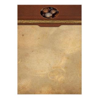 Steampunk - Clock - Time worn Custom Invitations