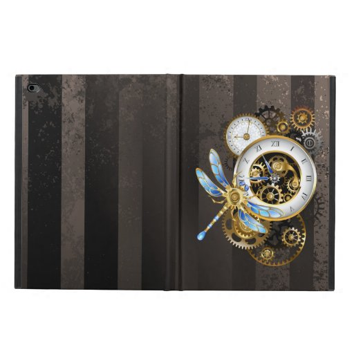 Steampunk Clock with Mechanical Dragonfly Powis iPad Air 2 Case