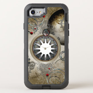 Steampunk, clocks and gears OtterBox defender iPhone 7 case