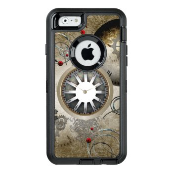 Steampunk  Clocks And Gears Otterbox Defender Iphone Case by stylishdesign1 at Zazzle
