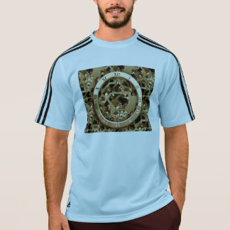 Steampunk Clocks  Gold Gears Mechanical Gifts T-Shirt