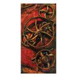 Steampunk - Clockwork Photo Card