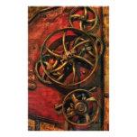 Steampunk - Clockwork Stationery Design