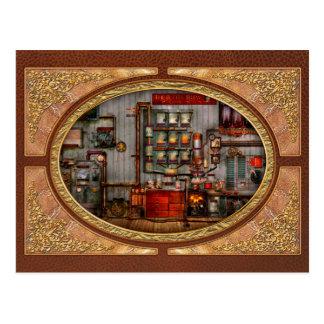 Steampunk - Coffee - The company coffee maker Postcard