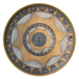 Steampunk Cogs Plate