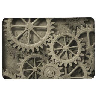 Steampunk Cogwheels Floor Mat