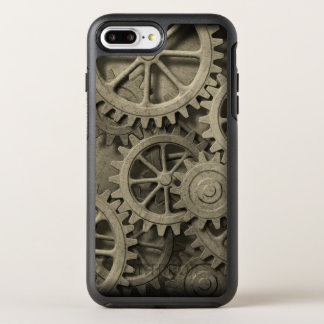 Steampunk Cogwheels OtterBox Symmetry iPhone 7 Plus Case