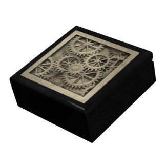 Steampunk Cogwheels Trinket Box