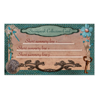 Steampunk Collectives for Web or Local Business Double-Sided Standard Business Cards (Pack Of 100)