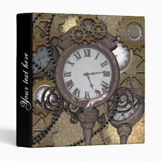 """Steampunk con los relojes y los engranajes, carpeta 1"""""""