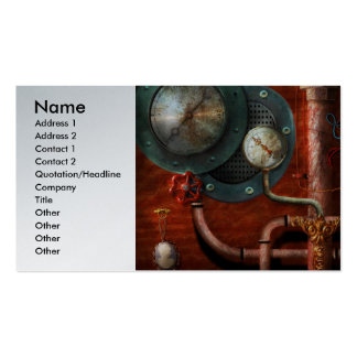 Steampunk - Controls Double-Sided Standard Business Cards (Pack Of 100)