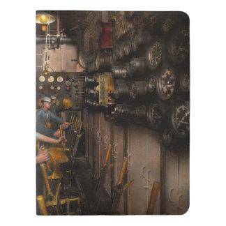 Steampunk - Controls on the USS Washington 1920 Extra Large Moleskine Notebook