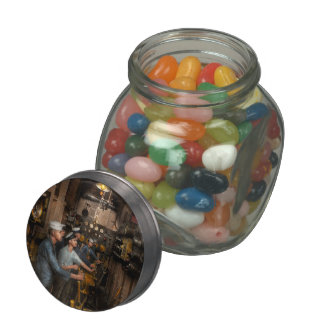 Steampunk - Controls on the USS Washington 1920 Jelly Belly Candy Jars