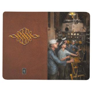 Steampunk - Controls on the USS Washington 1920 Journal