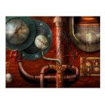 Steampunk - Controls Postcard