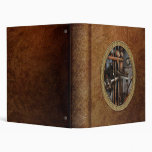 Steampunk - Controls - The Steamship control room 3 Ring Binders