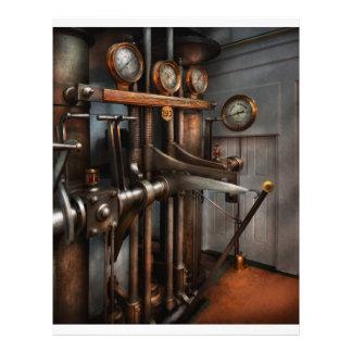 Steampunk - Controls - The Steamship control room Custom Flyer