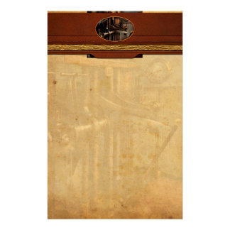Steampunk - Controls - The Steamship control room Stationery