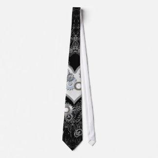 Steampunk, corazón maravilloso corbata personalizada