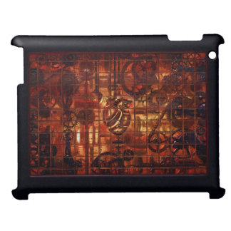 Steampunk Coronary Clockwork Gears Cover For The iPad 2 3 4