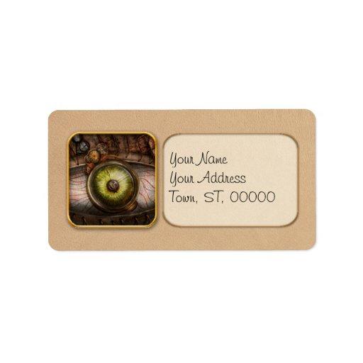 Steampunk - Creepy - Eye on technology Label