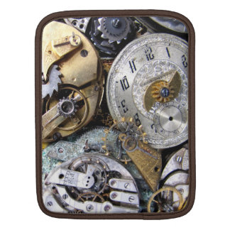 Steampunk Cronometer - Time Traveller's Case iPad Sleeves