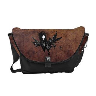 Steampunk Crow Courier Bag