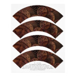 Steampunk Cupcake Wrappers on Letterhead