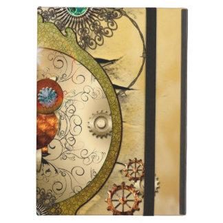 Steampunk, cute owl cover for iPad air