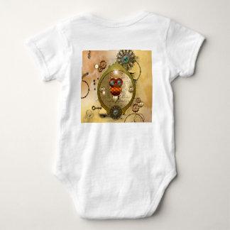 Steampunk, cute owl tshirt