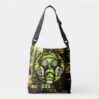 Steampunk / Cyberpunk Retro Gas Mask Crossbody Bag