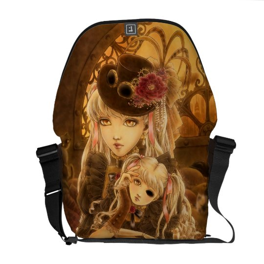 Steampunk Dark Fantasy Messenger Bag