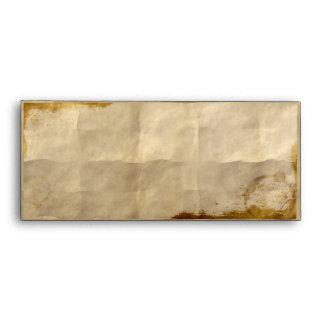 Steampunk de papel viejo sobres