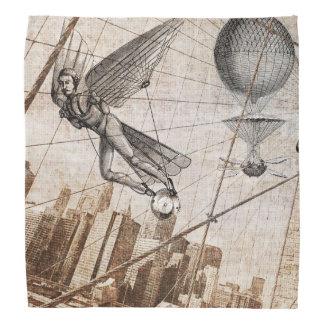 Steampunk del hombre de vuelo bandanas