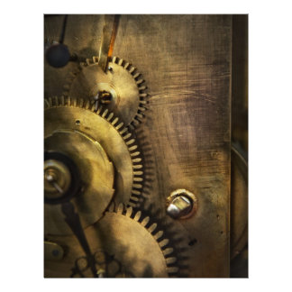 "Steampunk - dentudo folleto 8.5"" x 11"""
