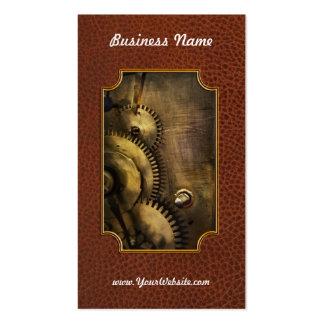 Steampunk - dentudo tarjetas de visita