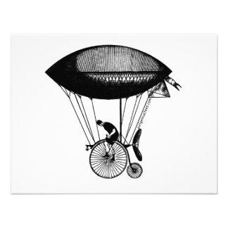 Steampunk derigicyclist custom announcement
