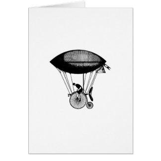 Steampunk derigicyclist greeting cards