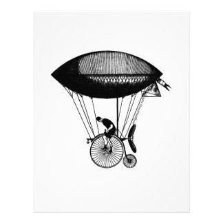 Steampunk derigicyclist letterhead