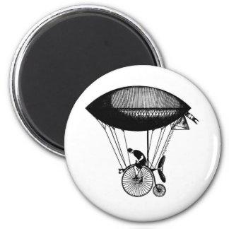 Steampunk derigicyclist magnet