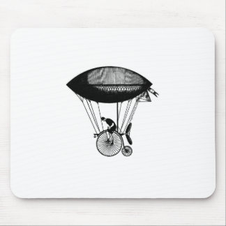 Steampunk derigicyclist mouse pad