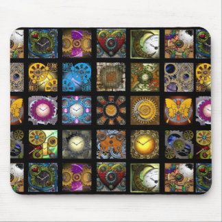 Steampunk Designs Mouse Pad