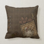 Steampunk Designs Throw Pillow