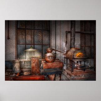 Steampunk - destilería privada poster